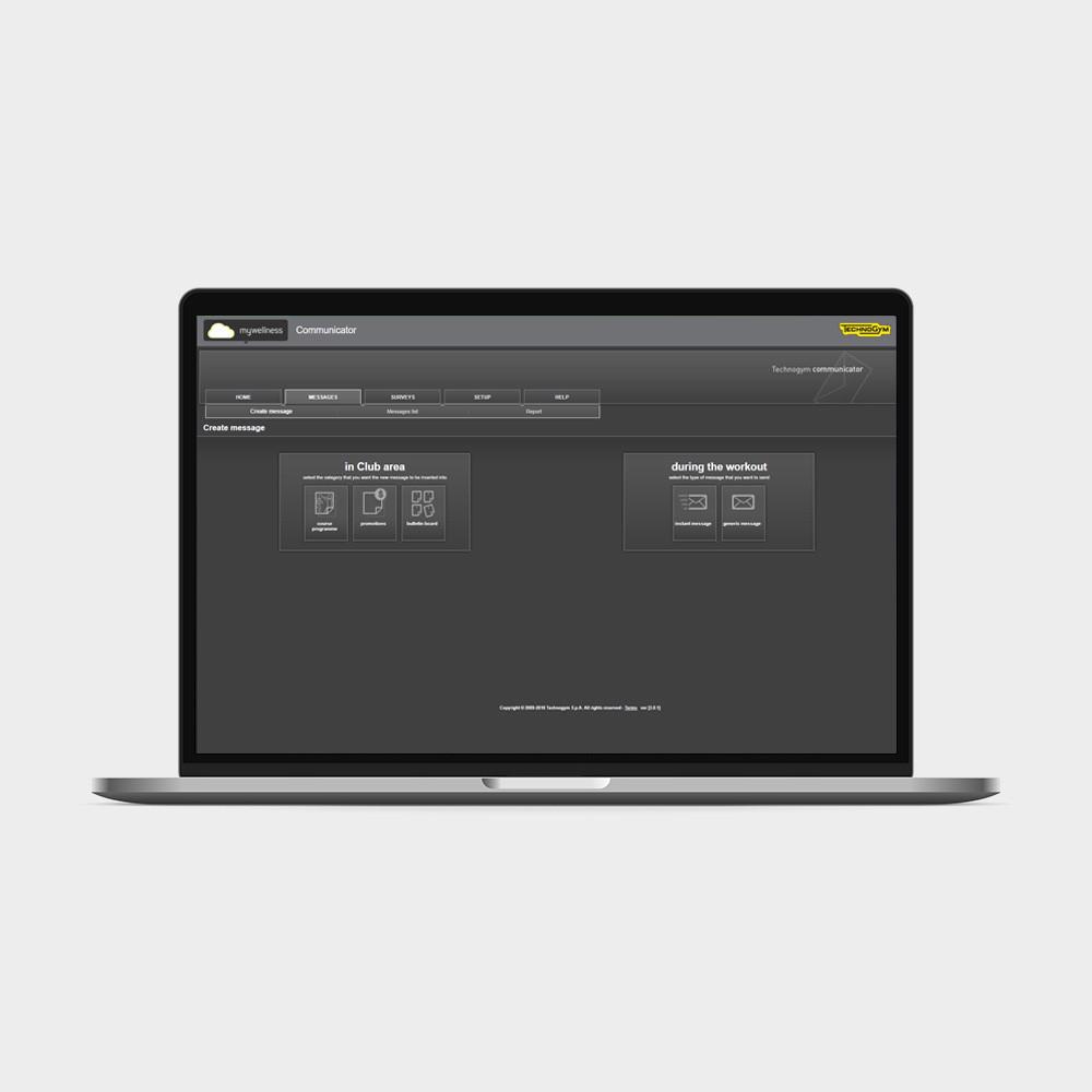 Профессиональное приложение COMMUNICATOR Technogym