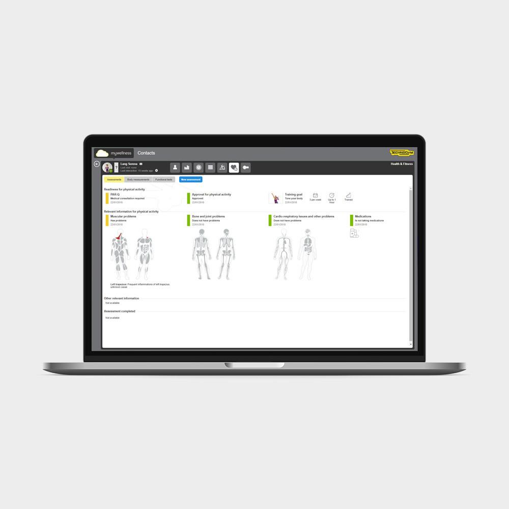 Профессиональное приложение PROFILE Technogym