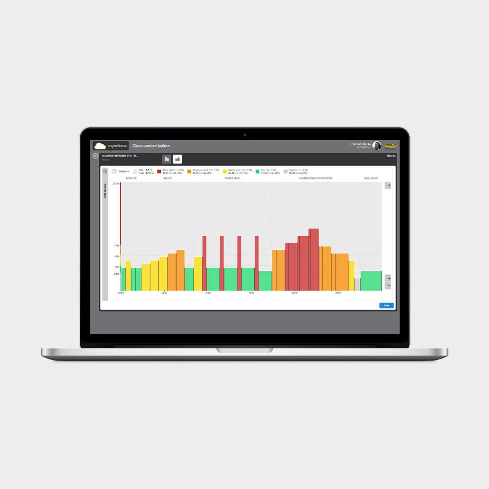 Профессиональное приложение SKILLRUN Technogym